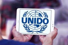 UNIDO, logo di Organizzazione delle Nazioni Unite per lo Sviluppo Industriale Fotografie Stock Libere da Diritti