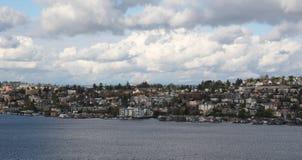 Unie de van de binnenstad van het het zuidenmeer van Seattle royalty-vrije stock afbeeldingen