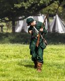Unie Legerscherpschutter van de Amerikaanse Burgeroorlog royalty-vrije stock foto's