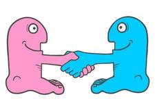 Unie marionet vector illustratie