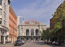 Unie Post in Denver Van de binnenstad royalty-vrije stock fotografie