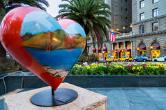 Unie Vierkant San Francisco Stock Foto's