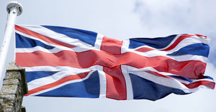 Unie vlag Stock Foto's