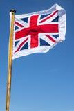 Unie Vlag het Vliegen Stock Afbeeldingen