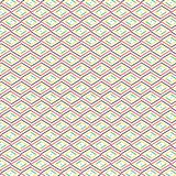 Uniek Abstract Kleurrijk Diamond Rhombus Plaid Pattern Background Stock Foto