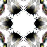 Uniek caleidoscoopontwerp vector illustratie