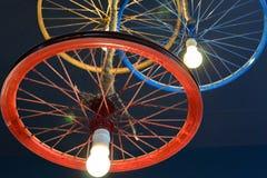 Uniek de kroonluchter/het plafondlicht van DIY royalty-vrije stock fotografie