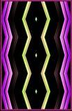 Uniek kleurrijk patroon Textuur van karton het schilderen effect vector illustratie