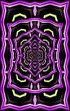 Uniek mooi patroon Textuur van karton het schilderen royalty-vrije illustratie