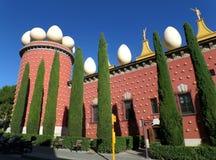 Uniek Salvador Dali Theatre Museum in Figueres, Spanje Stock Afbeelding