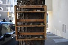 Uniek San Francisco Jack London Memorial stock fotografie