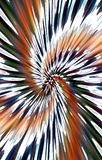 Unieke achtergrond De vlekken divergeren van het midden in een spiraal aan de randen vector illustratie