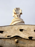 Unieke dakarchitectuur Stock Afbeeldingen