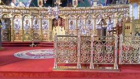 Unieke Griekse orthodoxe kerk in Cyprus Royalty-vrije Stock Afbeeldingen