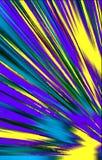 Unieke heldere geweven achtergrond Vlekken en stroken die van de lagere hoek aan de randen divergeren vector illustratie