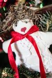 Unieke Kerstmisdecoratie Stock Foto's