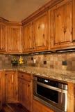 Unieke keukenmagnetron Stock Foto