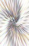 Unieke kleurrijke lichte achtergrond De stralen divergeren in een spiraal van het midden aan de randen vector illustratie