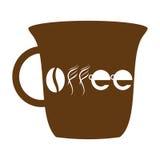Unieke Koffiekop Royalty-vrije Stock Foto's