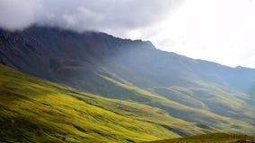 Unieke landschappen van kabardino-Balkarian Republiek, Rusland Royalty-vrije Stock Afbeeldingen