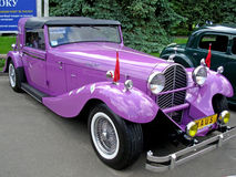 Unieke retro auto Royalty-vrije Stock Foto