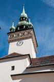 Unieke symbolen van de stad in het eigenlijke centrum van de stad Stock Foto