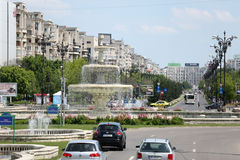 Unification Square in Bucharest Royalty Free Stock Photo