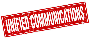 Unified communications stamp Royalty Free Stock Photography