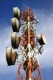 Unified communications tower Stock Images