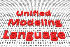 Unified modeling language Royalty Free Stock Images