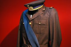 Uniform. Italian military uniform of World War II Stock Image
