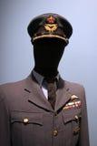 Uniform der königlichen kanadischen Luftwaffe. Stockbilder