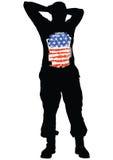 Uniform man nine Royalty Free Stock Image