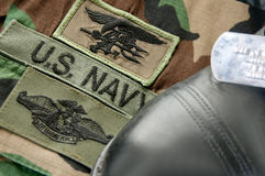 Uniform Of Navy SEAL Stock Photo