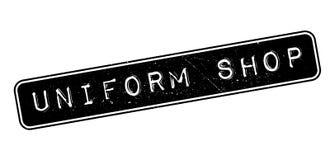 Uniform Shop rubber stamp Stock Images