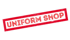 Uniform Shop rubber stamp Royalty Free Stock Photography