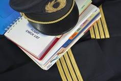 Uniform und Handbuch Lizenzfreie Stockbilder