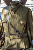 Uniform during the war Stock Photo