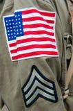Uniforme américain Images stock