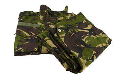 Uniforme camuflar Fotos de Stock Royalty Free