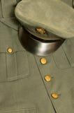 Uniforme d'armée de cru Image stock