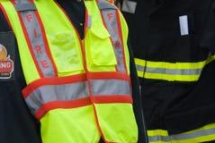 Uniforme de personne d'incendie photo libre de droits