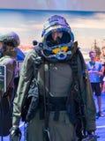 Uniforme de Shayetet 13 présenté sur l'exposition de militaires image libre de droits