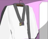 Uniforme del Taekwondo Fotografia Stock Libera da Diritti