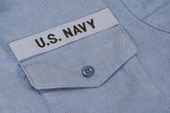 Uniforme della marina statunitense Fotografia Stock