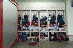 Uniforme des sapeurs-pompiers photos libres de droits