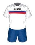 Uniforme du football de la Russie Photographie stock
