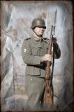 uniforme militaire allemand ww2 de personne image stock