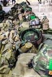 Uniforme militare. Immagini Stock