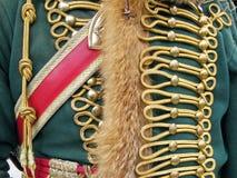 Uniforme militare decorata Immagine Stock Libera da Diritti